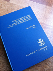 Phd thesis us college