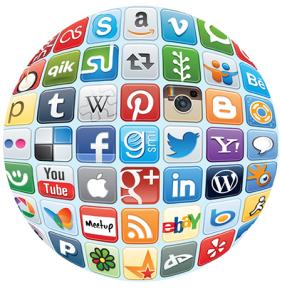 social-media-icons-globe